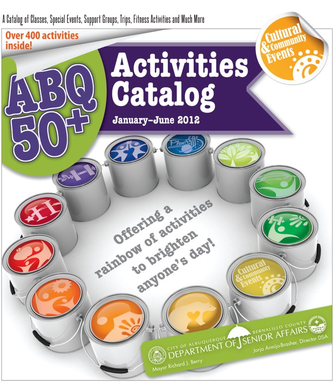 ABQ 50-Plus Activities Catalog Jan-Jun 2012 Cover