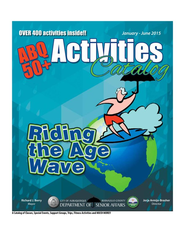 ABQ 50-Plus Activities Catalog Jan-Jun 2015 Cover