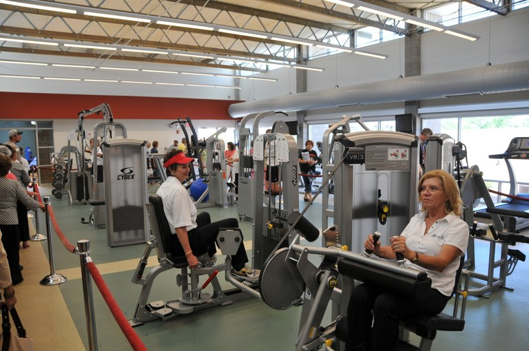 Los Volcanes Fitness Center Machines