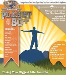 Planet 50+ Catalog Cover Spring 2009
