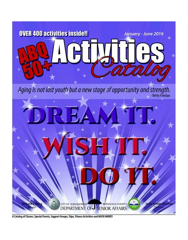 ABQ 50 Plus Activities Catalog Jan-Jun 2016 - Cover