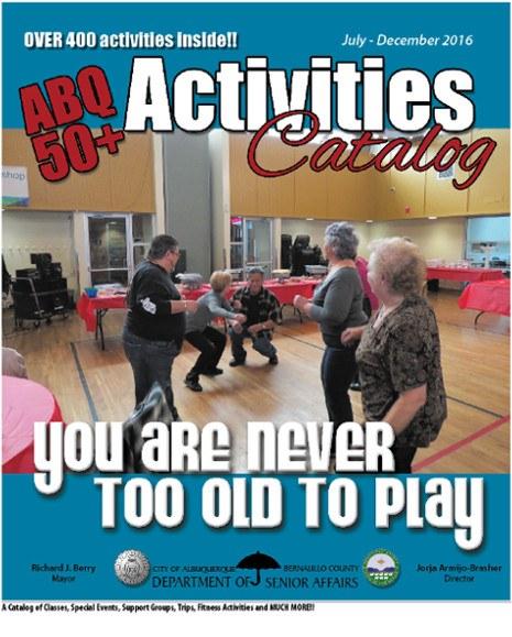 50 Plus Activities Catalog Jul-Dec '16