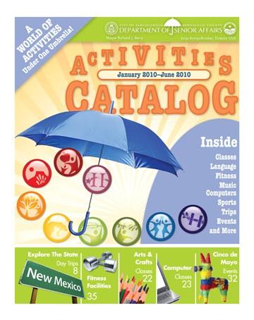 Activities Catalog Cover Jan-Jun 2010