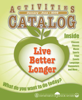 Activities Catalog Cover - Jan - Jun 2009