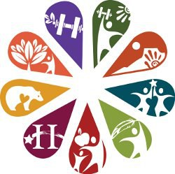 All Centers Logo As Flowers