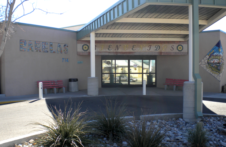 Front of Barelas Senior Center