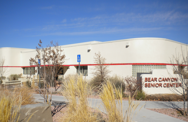 Front of Bear Canyon Senior Center