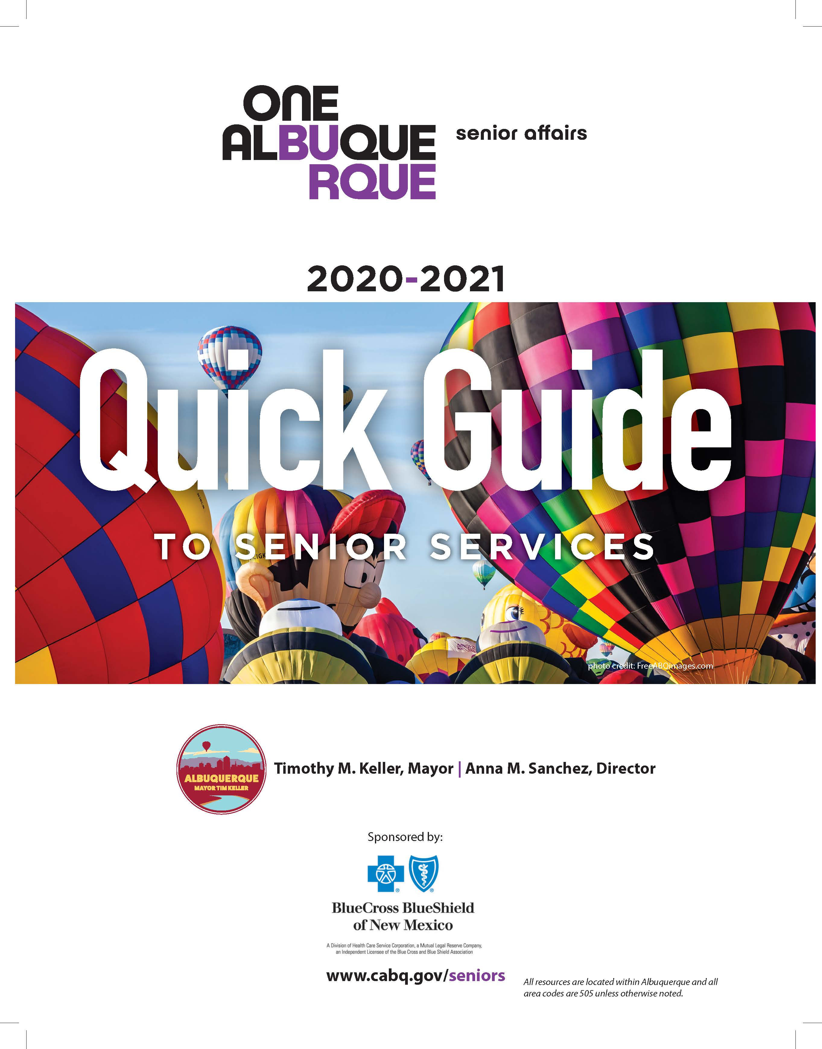 Cover of Quick Guide 2021