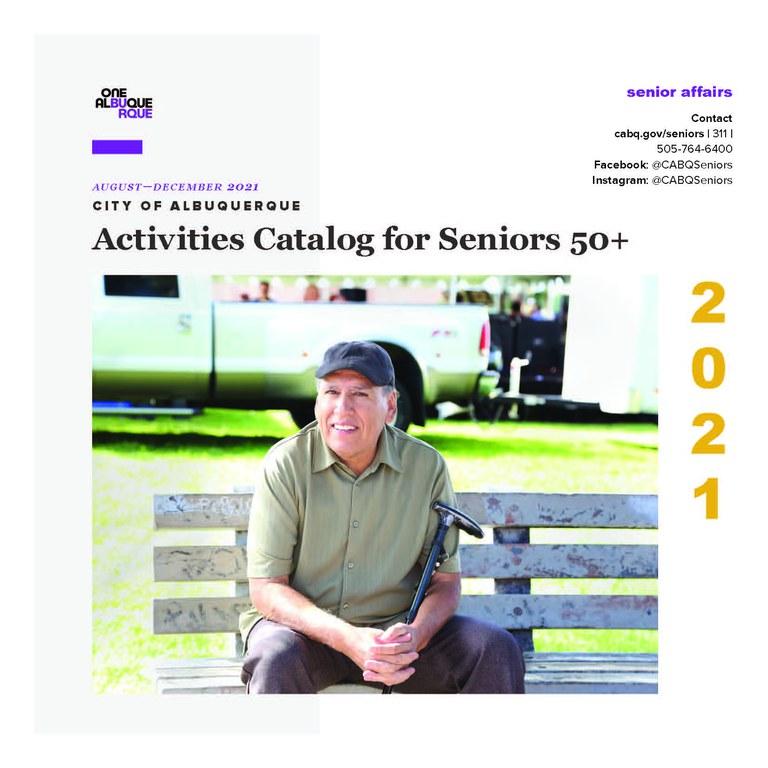 2021 Aug.-Dec. Activities Catalog Cover