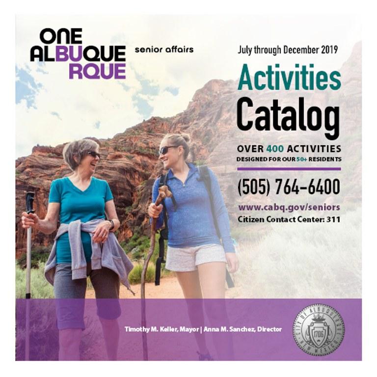 DSA Activities Catalog Tile: July to Dec. 2019