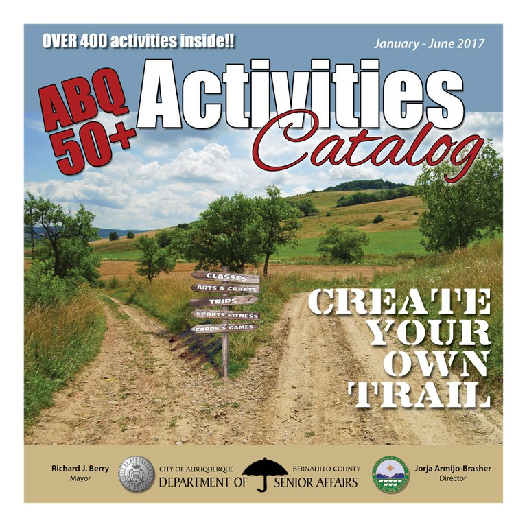 DSA Activities Catalog Cover Jan - Jun 2017