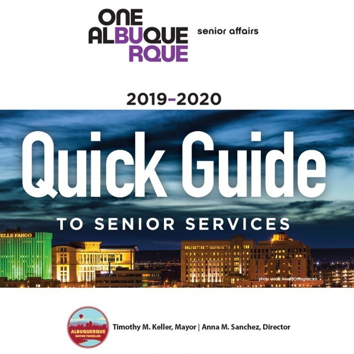 A jpg of the 2019-2020 Quick Guide to Senior Affairs Cover.