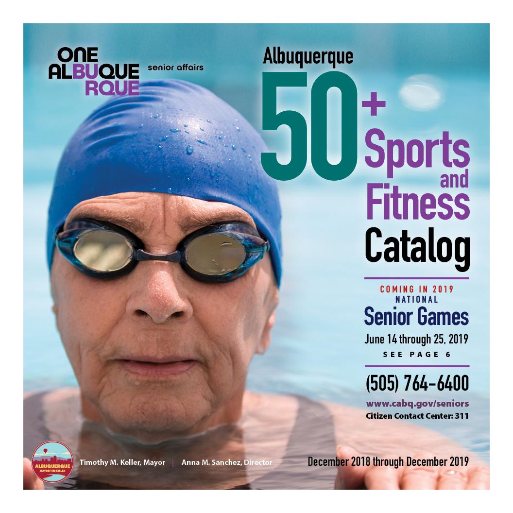 50 Plus Sports Fitness Catalog Dec. 2018-Dec. 2019 Tile Image