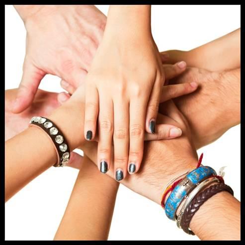 Stop senior hunger partner hands
