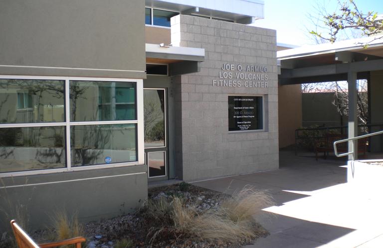 Front of Los Volcanes Senior Center
