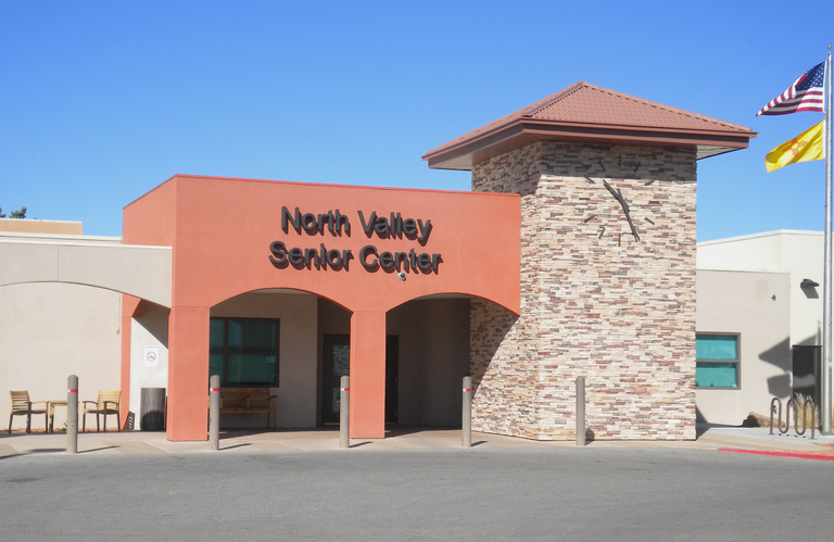 Front of North Valley Senior Center