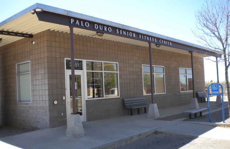 Front of Palo Duro Senior Center