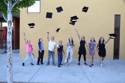 JPG of graduating youth