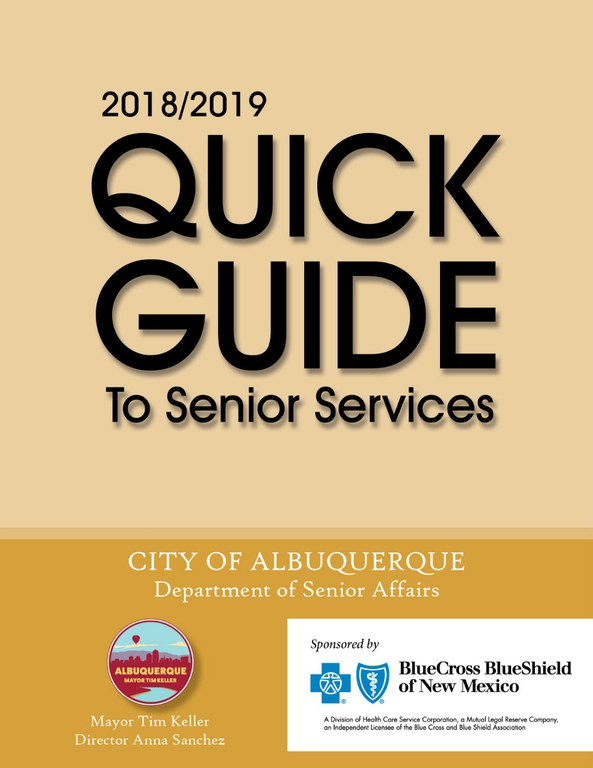 Cover of the Senior Quick Guide for 2018