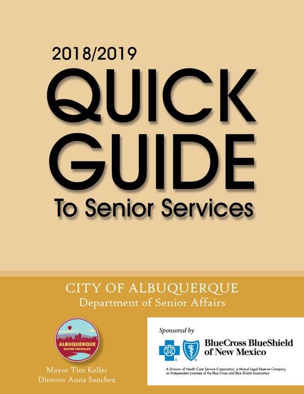 Senior Quick Guide: 2018 - Cover