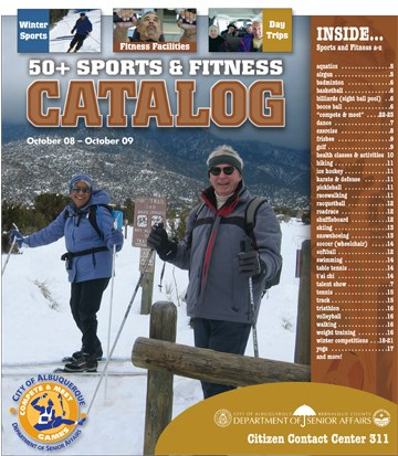 50+ Sports & Fitness Catalog Cover