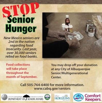 Stop Senior Hunger - Month