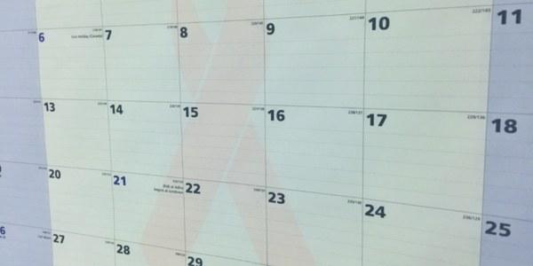 Service Calendar