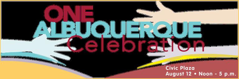 One ABQ Celebration Website Header