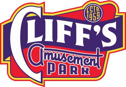 Cliff's Amusement Park Logo