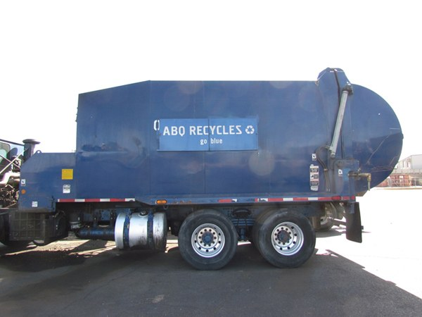 Truck with Flip Sign