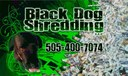 Black Dog Shredding Logo