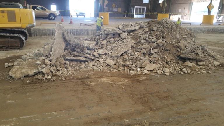 Eagle Rock Convenience Center Construction