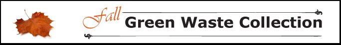 Fall Green Waste Banner