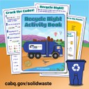 Recycle Right Poster for Kids