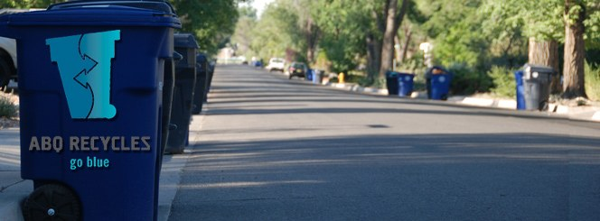 Learn about Albuquerque's new blue cart recycling program!