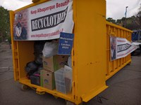 City of Albuquerque Residents Recycle 10,220 Pounds of Clothes to Benefit Local Clothing Bank