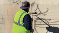Graffiti Teams Clean Up the City within Twenty-Four Hours of Receiving a Report