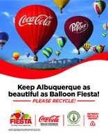 Local STEM Students Take Initiative on Balloon Fiesta Recycling