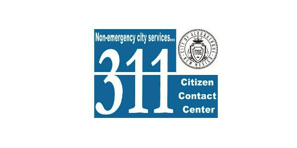 The 311 Citizen Contact Center logo.