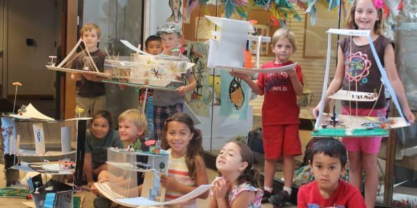 Participants in the Museum School's Art Program.