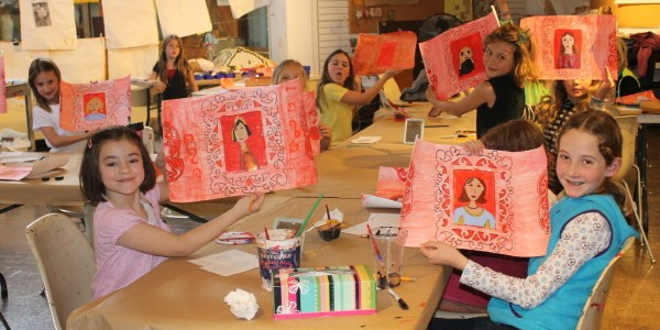 Participants in the Museum School.