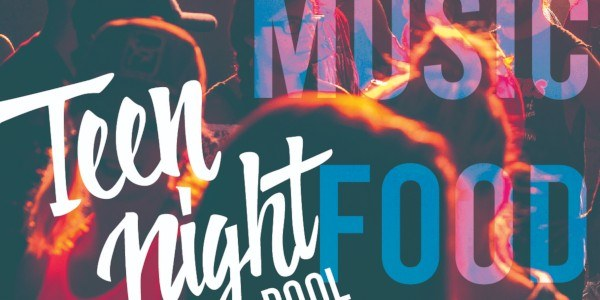 The logo of the 2019 Teen Nights