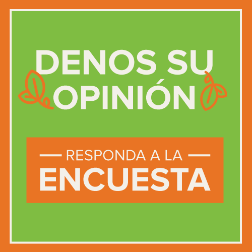 A PNG of the CAP Take the Survey Button in Spanish.
