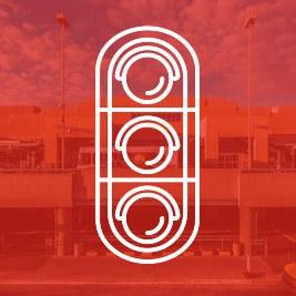 Traffic Signal Prioritization Icon