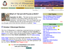 20th Anniversary: City of Albuquerque Website