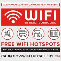 Mayor Tim Keller Expands Free Wireless Internet Access Options Across the City