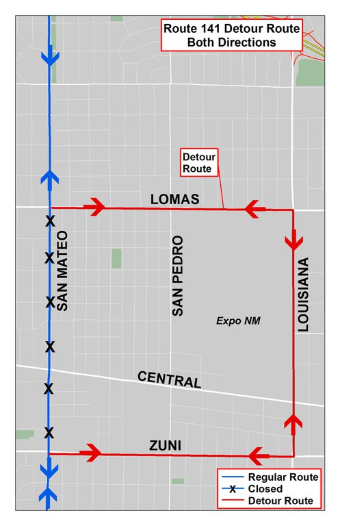 2018 Detour Map - 141 to Louisiana Pride Parade.jpg