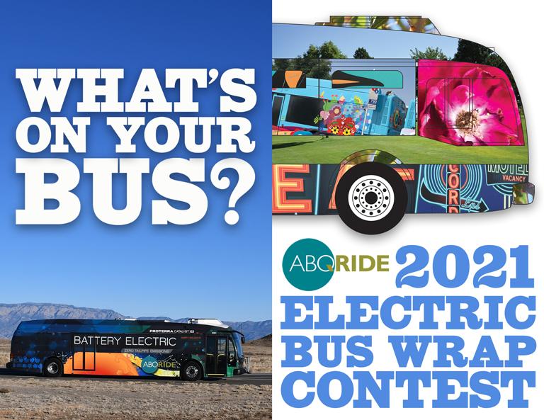 2021 Electric Bus Wrap Contest graphic