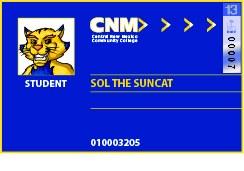 13 Sticker-CNM Student ID