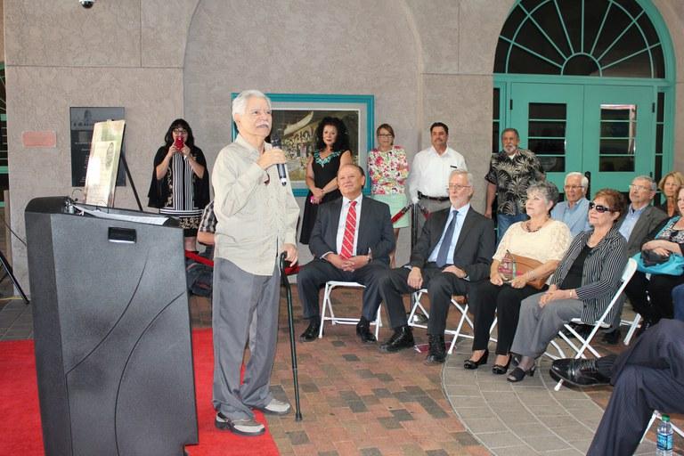 Rudolfo Anaya speaks